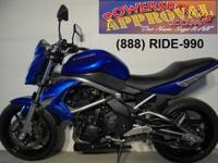2009 Kawasaki ER650N Motorcycle for sale only $3,500!