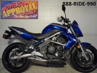 2009 Kawasaki ER6N Sport Bike for sale with only 7,803