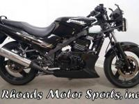 2009 Kawasaki EX500 with 67 Miles. This bike is
