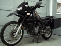 2009 Kawasaki KLR650 black with 78k miles. This bike is