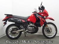 2009 Kawasaki KLR650 with 2,895 Miles This is a very