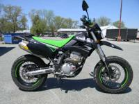 2009 Kawasaki KLX250SF BLACK ONLY 8132 MILES FULL FMF