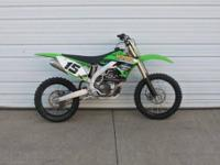 2009 Kawasaki KX?450F $4,299.00 Stock Number: 000554