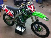 2009 kx 450 f better than new. Very low hours. Maybe 20