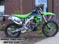 2009 Kawasaki KX450 Monster Edition For Sale. This