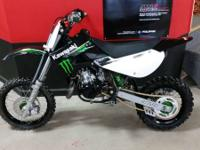 2009 Kawasaki KX65 Monster Energy A real ripper for