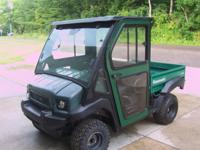 2009 Kawasaki Mule 4010 Diesel 4x4, Power steering,