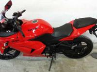 Make: Kawasaki Mileage: 1,312 Mi Year: 2009 Condition: