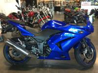 Motorcycles Sport. 2009 Kawasaki Ninja 250R GREAT