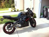 I am selling my 2009 Ninja 650r. I am the second owner