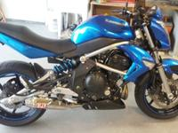 Year: 2009Exterior Color: BlueMake: KawasakiEngine Size