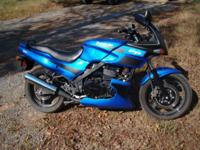 Low mileage (3750), well kept 2009 Ninja 500 in