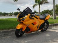 I am selling my 2009 Kawasaki ZX-14 custom bike that is