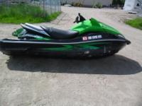 Up for auction: 2009 Kawasaki Ultra 260x PWC. This unit
