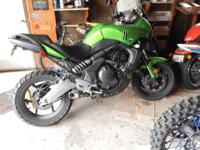 2009 Kawasaki Versys 650 3224 miles like new $4000 OBO
