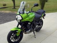 2009 Kawasaki VERSYS 650cc Sport Touring Adventure