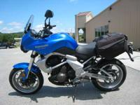 While the 2009 Kawasaki Versys may defy attempts to