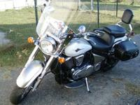 Great bike, great price. Front windshield, back seat