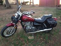 I have a 2009 Kawasaki Vulcan 500 LTD available for