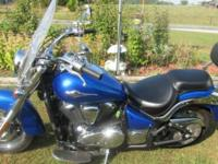 2009 KAWASAKI VULCAN 900, NEW BATTERY, ONLY HAS 2,271