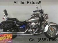 2009 Kawasaki Vulcan 900 Classic motorcycle for