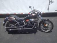 This 2009 Kawasaki Vulcan 900 Custom is in mint