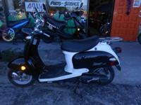 2009 Keeway Venus 49cc 2 stroke with a new engine!