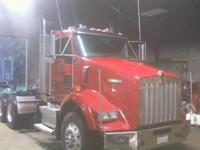 2009 KENWORTH T800, Engine: 500 Cummins, 320000 miles,