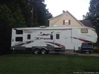 selling my 2009 keyston fuzion fz 302 5th wheel toy