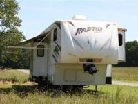 2009 Keystone Raptor 3712ts , 2 A/C units upfront, 2nd