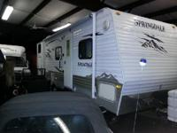 2009 Keystone RV Springdale sg267bhss. This Camper is