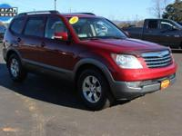 Clean CARFAX. CARFAX One-Owner. This 2009 Kia Borrego