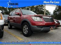 New Price! This 2009 Kia Borrego LX in Red features: