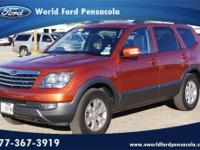 World Ford Pensacola presents this 2009 KIA BORREGO 4WD