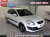Check out this Kia Rio! It has all the right