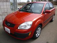 Options Included: 2009 Kia Rio LX 4DR FWD Sedan, 1.6L