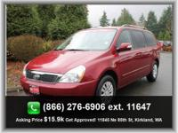 2009 Kia Sedona 4dr LWB LX Our Location is: Honda Of