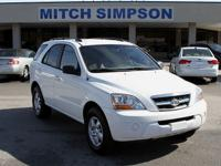 This is a very clean little 2009 Kia Sorento LX. It is