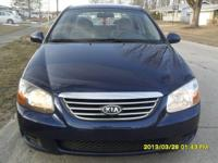 2009 Kia Spectra EX Price: $7,900 Or Best Offer! Miles: