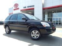 We are excited to offer this 2009 Kia Sportage. This