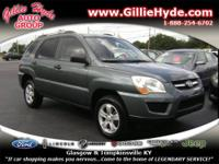 Check out this Gas Saving SUV! This Kia Sportage is