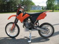 2009 KTM 105 SX Robust, light and the measure of all