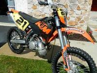 this is my 2009 ktm 200 xcw ,Im the second owner and
