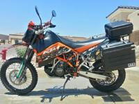 2009 KTM 950R Super Enduro. I bought it new in 2010 and