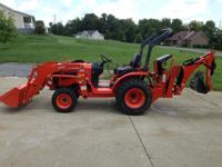 2009 Kubota B2320 Tractor with 9 speed transmission
