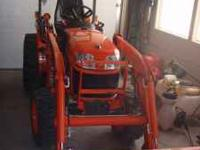 Kubota 2620 With LA364 Loader for sale. I purchased the