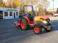 2009 KUBOTA 40 HP 4WD TRACTOR GST TRANSMISSION 264 HRS