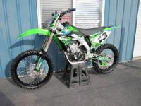 2009 Kawasaki KX450F in great shape. Bike is completely