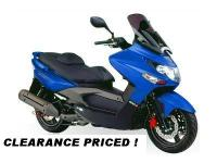 2009 KYMCO XCITING 250-R SCOOTER . CLOSEOUT SALE ! The