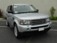 This 2009 Land Rover Range Rover Sport HSE is offered